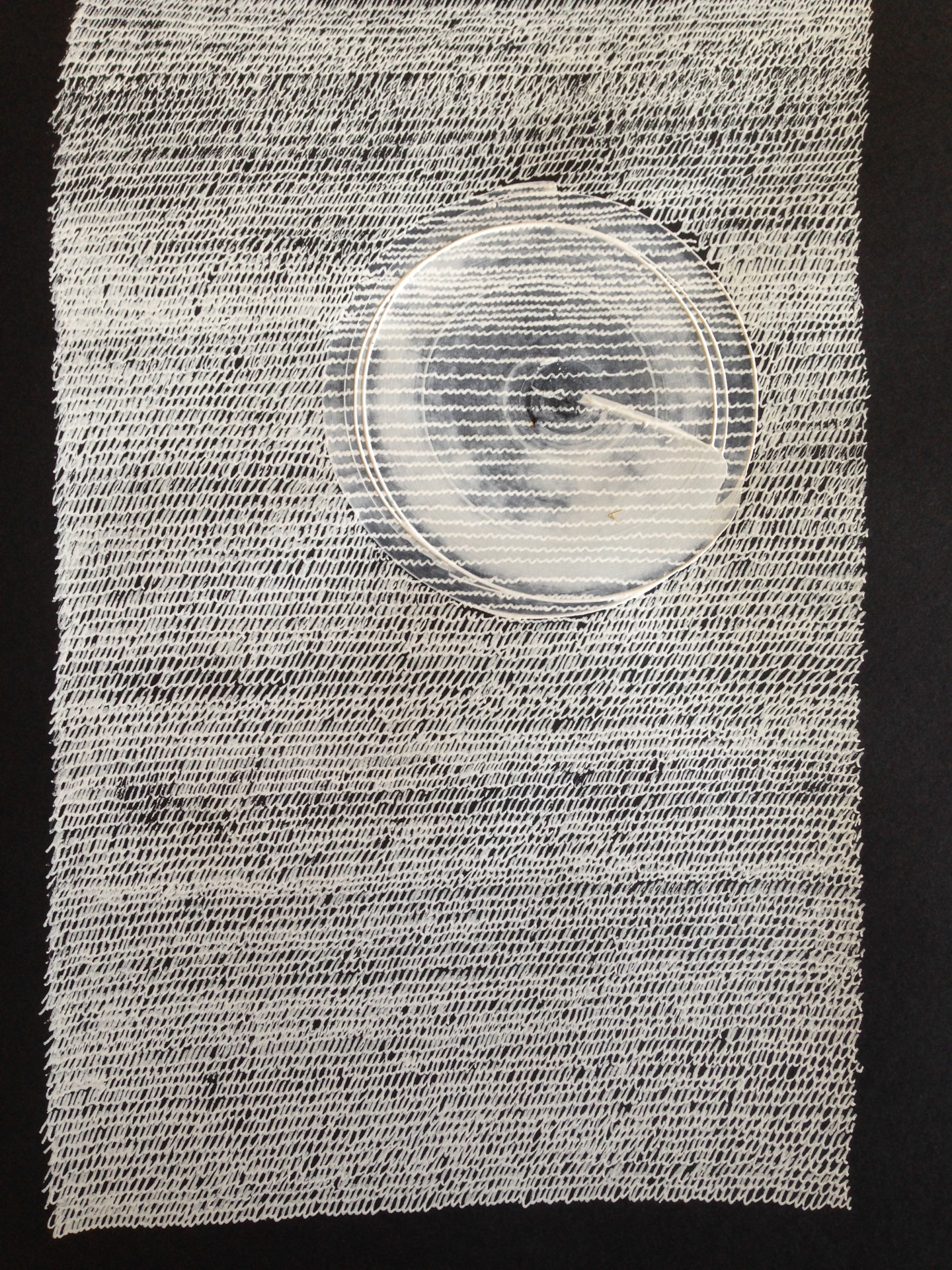 Knitted Wordblanket Covering A Claustrophobic Planet